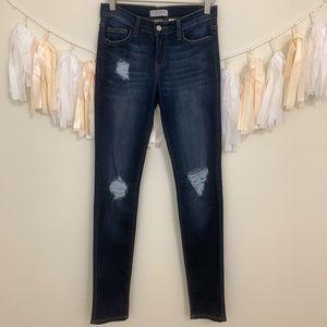 JUDY BLUE Stitch Fix Distressed Skinny Jeans